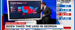 Georgia Turns Blue